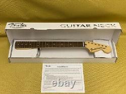 099-7103-921 Fender Deluxe Series Stratocaster Strat Replacement Neck Pau Ferro