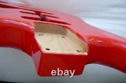 1-Piece STRAT Body / Alder / Candy Apple Red Red / Stratocaster- Fits Fender