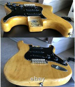 1976 Fender Stratocaster, Lux Case, Leather Strap-new