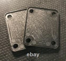 2 Pack Of Fender & Fender Corona California Neck Plate Replacements