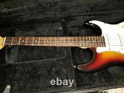2006 2007 MINT American Fender Stratocaster Sunburst USA Electric Guitar MIA