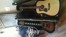 2012 American Fender Deluxe custom Stratocaster (left-handed)