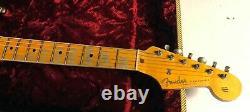 2020 Fender 57 Stratocaster Heavy Relic Aged Black 7.3lbs Strat Custom Shop