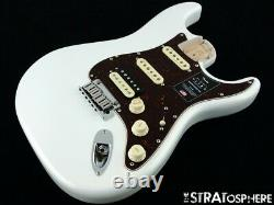 2020 Fender American Ultra Stratocaster Strat HSS LOADED BODY USA Arctic Pearl
