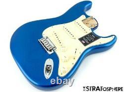 2020 Fender American Ultra Stratocaster Strat LOADED BODY USA Cobra Blue