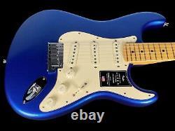 2020 Fender Stratocaster American Ultra USA Strat Cobra Blue