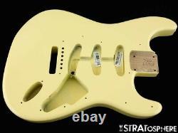 2021 American Fender Stratocaster MALMSTEEN, Strat BODY Vintage White