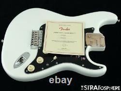 2021 American Performer Fender Stratocaster Strat LOADED BODY, USA Arctic White