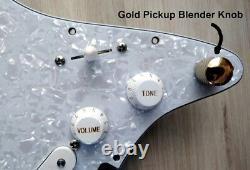 2021 FENDER SQUIER STRAT SSS 11-HOLE LOADED PICKGUARD Stratocaster w Crazy MODS