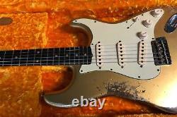 2021 Fender'60 Stratocaster Heavy Relic Aztec gold Custom Shop Strat 7.5lb