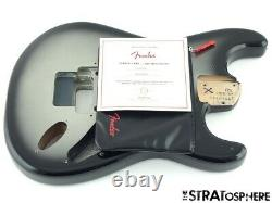 2021 Fender American Ultra Luxe Stratocaster HSS Floyd Strat BODY, Silver Burst