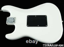 2021 Fender Player FLOYD ROSE Stratocaster Strat BODY & HARDWARE Polar White