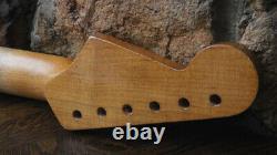 Aged Warmoth Strat Neck Nitro Relic Rift Sawn Lic Fender Stratocaster Fits MJT