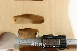 Alder HSS guitar body fits Fender Strat Stratocaster neck Floyd Rose J337