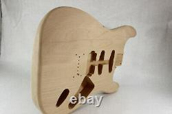 Alder Hardtail guitar body fits Fender Strat Stratocaster necks J436