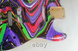 Alder HxS guitar body fits Fender Strat Stratocaster neck Floyd Rose J309