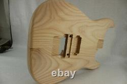Ash Hxx guitar body fits Fender Strat Stratocaster neck Floyd Rose J653