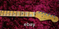 Fender 1957 Stratocaster Heavy Relic Modern Spec Sonic Blue Custom Shop 7lbs