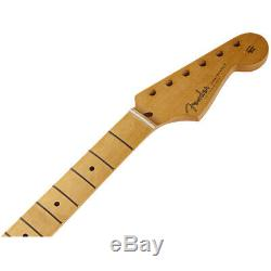 Fender 50's Style Stratocaster, Maple Board, Soft V Shape Guitar Neck