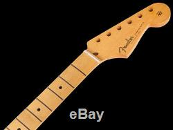Fender'50s Classic Series Stratocaster Neck, 21 Vintage Frets, Lacquer Finish