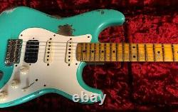 Fender 57 Stratocaster Heavy Relic Modern Spec Seafoam Green Custom Shop HSS