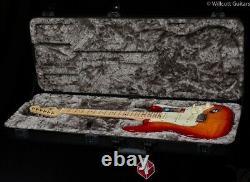 Fender American Elite Stratocaster Aged Cherry Burst Maple (636)