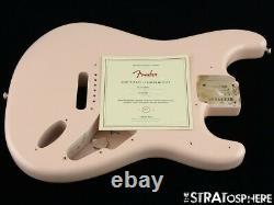 Fender American Original 60s Stratocaster BODY Strat USA Nitro, Shell Pink