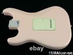 Fender American Original 60s Stratocaster LOADED BODY Strat Parts Shell Pink