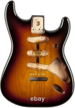 Fender Classic Series 60's Stratocaster SSS Alder Body Vintage Bridge Mount