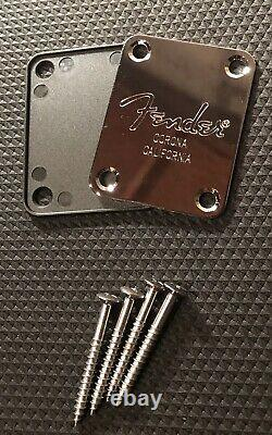Fender Corona California Neck Plate Replacement withGasket & Neck Screws