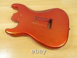 Fender Custom Shop Big Head Stratocaster Body Vintage 66 Relic Candy Apple Strat