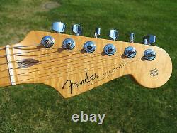 Fender Custom Shop Deluxe Stratocaster Crimson Flame Maple Top ABBY PICKUPS