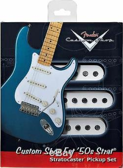 Fender Custom Shop Fat 50's Strat Pickup Set Vintage Re-issue Stratocaster New