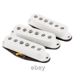 Fender Custom Shop Fat'50s Stratocaster Pickup, 3 Pieces, White 0992113000