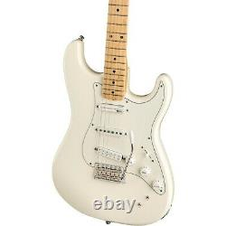 Fender EOB Stratocaster Electric Guitar Olympic White