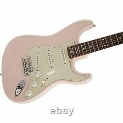 Fender Electric Guitar Made in Japan Traditional 60s Stratocaster Shell Pink