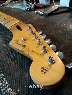 Fender Lic Relic STRAT neck Aged Nitro 50's Stratocaster COMPOUND RADIUS Mr. G's