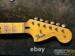 Fender Lic Relic STRAT neck Aged Nitro 66 67 maple Stratocaster Mr. G's Customs