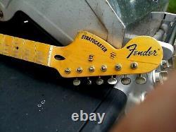 Fender Lic STRAT neck Nitro reverse headstock Stratocaster Relic Mr. G Custom 69