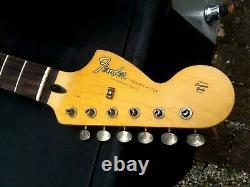 Fender Lic STRAT neck Nitro reverse headstock Stratocaster Relic Mr. G aged 67