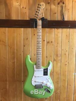 Fender Limited Edition Player Series Stratocaster Electron Green Only 200 Made