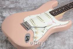 Fender MIJ Hybrid 60s Stratocaster Rosewood Flamingo Pink Fast Ship Japan EMS