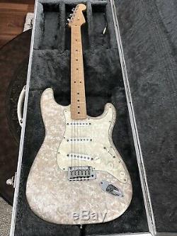 Fender Moto Stratocaster & Amp Set Mother of Toilet Pearl 1995 USA Custom Shop
