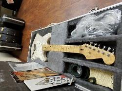 Fender Moto Stratocaster and Amp Set Mother of Toilet Pearl Finish 1995