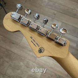 Fender Noventa Stratocaster Strat NECK TUNERS 9.5 Radius Guitar Maple Loaded
