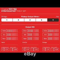 Fender Original 57/62 Stratocaster Pickup Set 0992117000