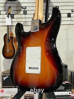 Fender Player Series Stratocaster HSS 3-Tone Sunburst Maple Neck w Free Shipping