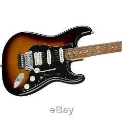 Fender Player Stratocaster HSS Floyd Rose Electric Guitar, Pau Ferro 3TSB