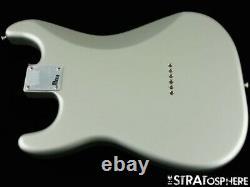 Fender ROBERT CRAY Hardtail Strat LOADED BODY Stratocaster Guitar Inca Silver