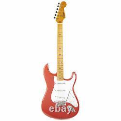 Fender Squier Classic Vibe'50s Stratocaster Maple Fiesta Red Demo